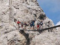 Klettersteig Oberstdorf : Klettersteige rund um oberstdorf. geführte klettersteigtour für