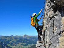 Klettersteig Rosengarten : Klettersteige am rosengarten. geführte klettersteigtour wandern mit