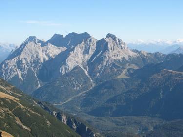Besteigung der Zugspitze